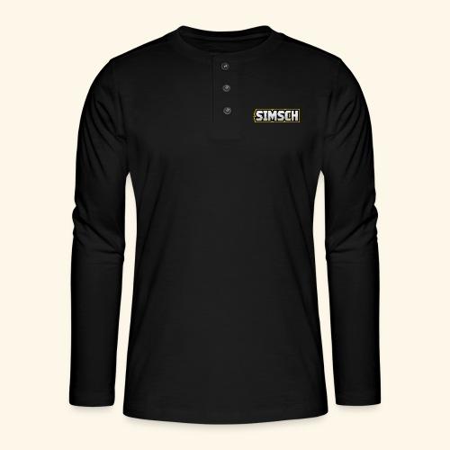 simsch - Henley Langarmshirt