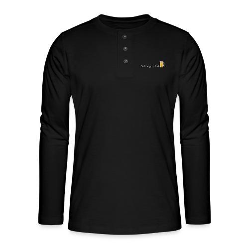 Stik mig en fad af Dale & Nilsson - Henley T-shirt med lange ærmer
