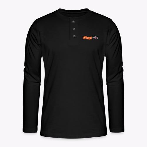 Circus Airplane - Henley long-sleeved shirt