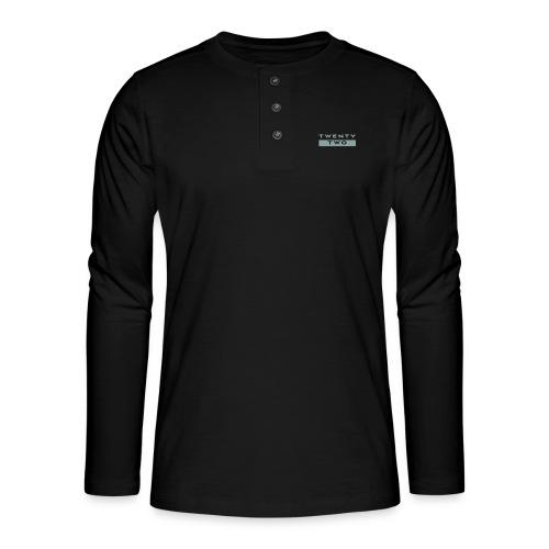 Twenty Two - Henley long-sleeved shirt
