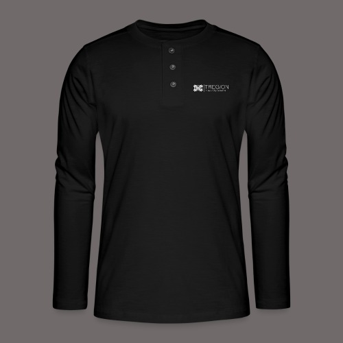 Tregion Logo wide - Henley long-sleeved shirt