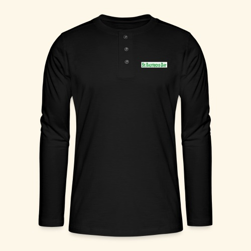 ST BADTRICKS DAY - Henley long-sleeved shirt