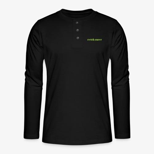cwtchmawr1 - Henley long-sleeved shirt