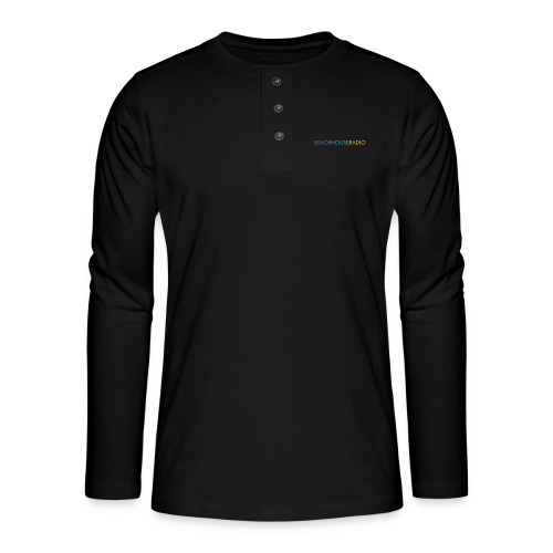 Beach House Radio Logo - Henley long-sleeved shirt