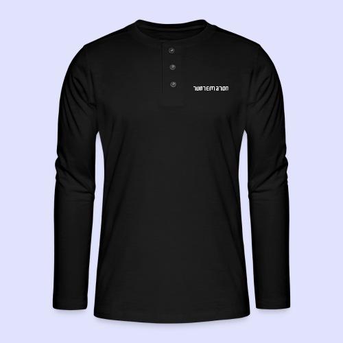 Teippilogo - Henley pitkähihainen paita
