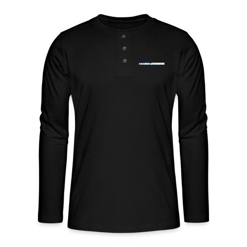 ny logo lang - Henley langermet T-skjorte