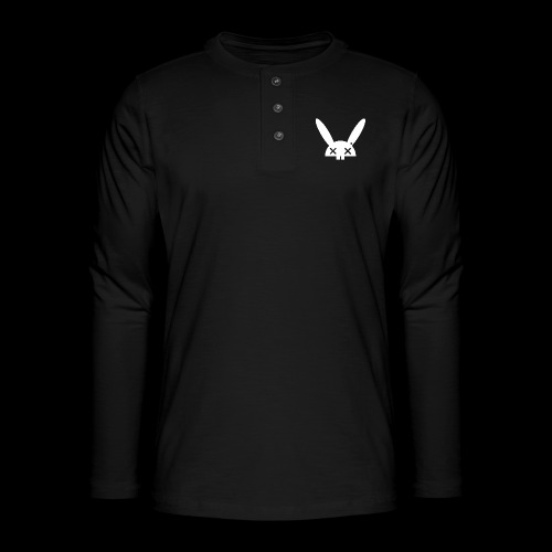 HARE5 LOGO TEE - Henley long-sleeved shirt
