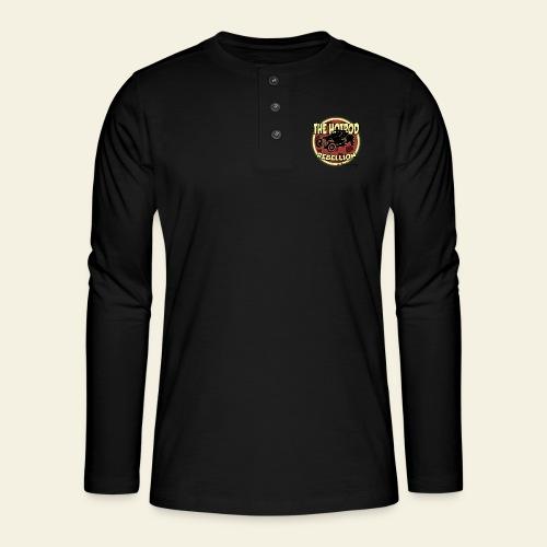 hotrod rebellion - Henley T-shirt med lange ærmer