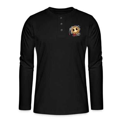 Totenknopf - Henley Langarmshirt