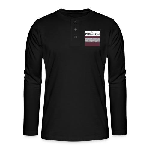 Iphone case jpg - Henley shirt met lange mouwen