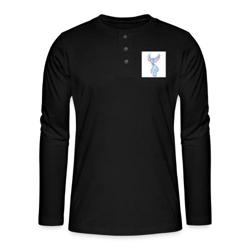 Félix - Camiseta panadera de manga larga Henley