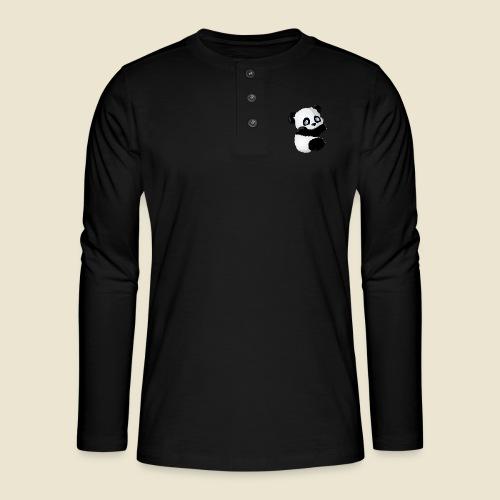 Bébé Panda - T-shirt manches longues Henley