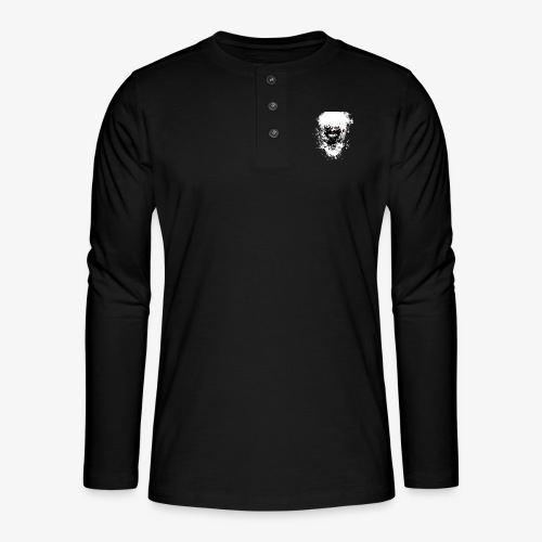 Kaneki Eye Patch - Henley long-sleeved shirt
