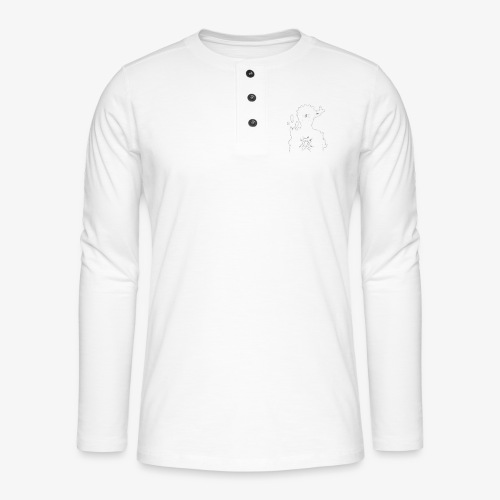 9 Tails Seal - Henley long-sleeved shirt