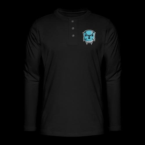 OPFOR LOGO - Henley shirt met lange mouwen