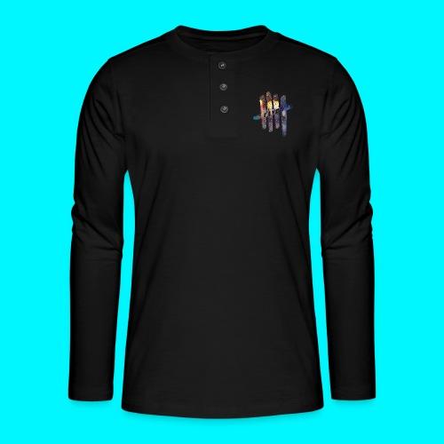 FIVES color rain - T-shirt manches longues Henley