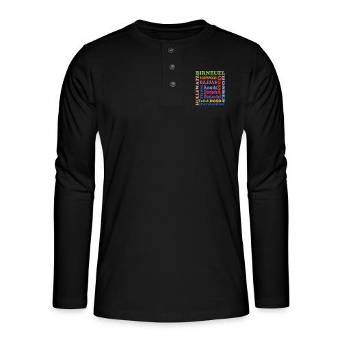 schimpf - Henley Langarmshirt