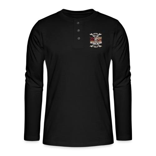 Cross the Bar - Henley long-sleeved shirt
