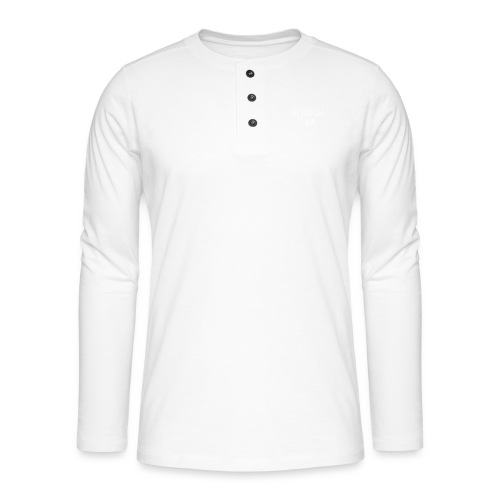 The Struggle Is Real - Henley Langarmshirt
