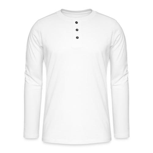 Jesus follower akita lover nap taker - Henley long-sleeved shirt