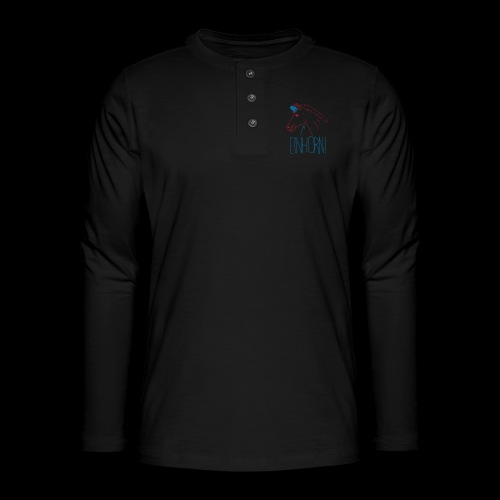 Einhorn - Henley Langarmshirt