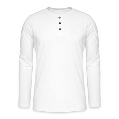 niglo king gris hérisson - T-shirt manches longues Henley