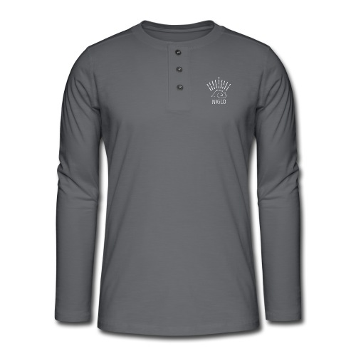 niglo king gris hérisson - T-shirt manches longues Henley