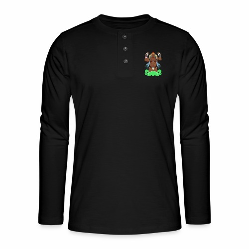 For N.O.R.A. - Henley long-sleeved shirt
