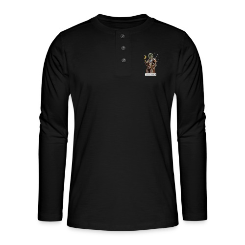 Never Feed After Midnight - Henley long-sleeved shirt