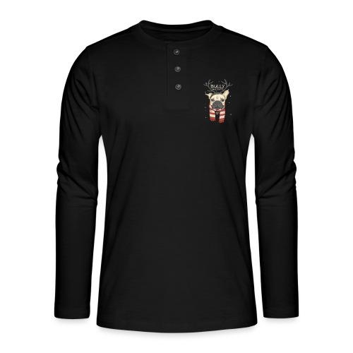 Bully Weihnacht - Henley Langarmshirt