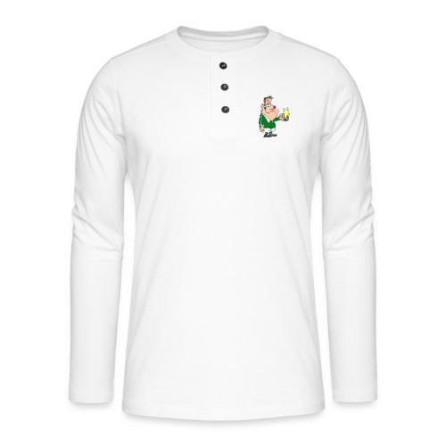 I COULD HAVE PLAYED FOR IRELAND ONLY FOR BOOZE - Henley long-sleeved shirt