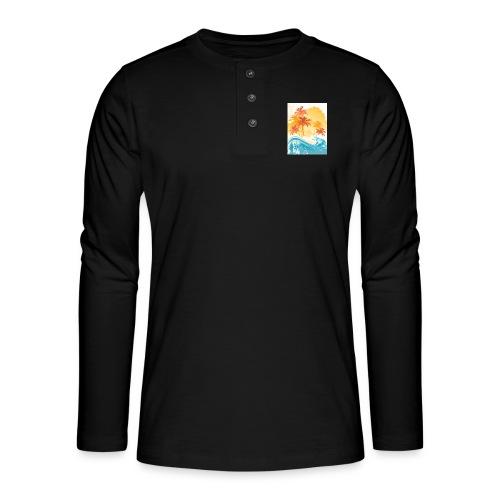 Palm Beach - Henley long-sleeved shirt