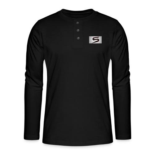 cools - Henley langermet T-skjorte