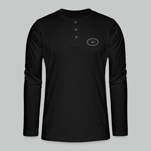 Heartbeat Clock - Henley long-sleeved shirt