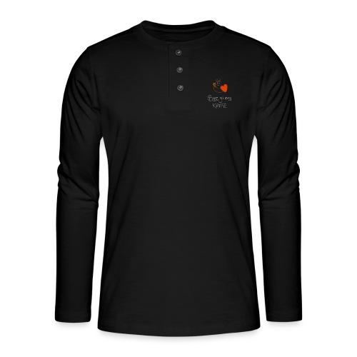 Kaffe - Henley langermet T-skjorte