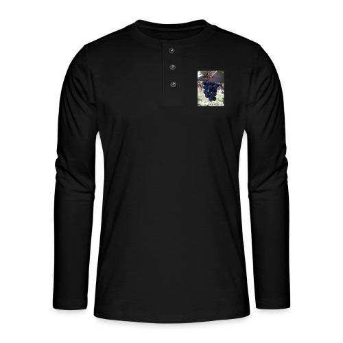 Traube - Henley Langarmshirt