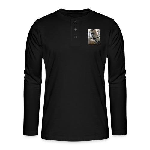 9AF36D46 95C1 4E6C 8DAC 5943A5A0879D - Henley langermet T-skjorte