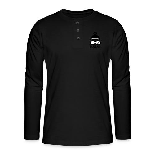 Skimuts Jetzt Geht's Los - Henley shirt met lange mouwen