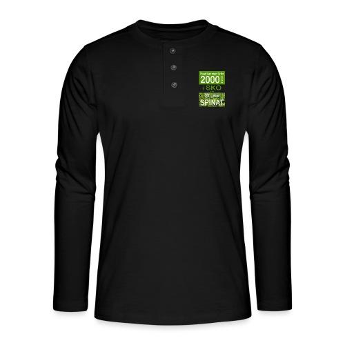 Hvad kan man få for 2000 kroner - Henley T-shirt med lange ærmer