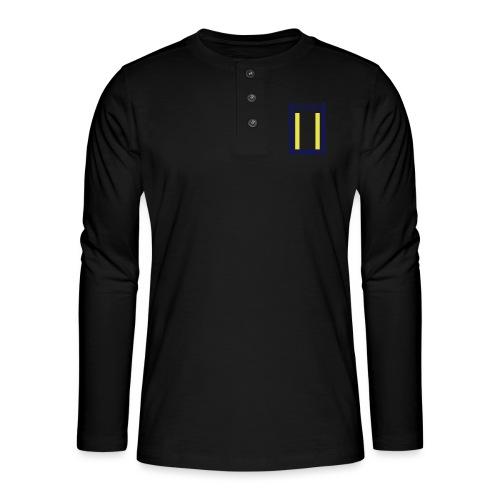 Rettungsdienst Junior Shirt - Henley Langarmshirt