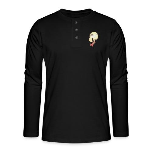 Bow Tie Skull Tee - Henley long-sleeved shirt