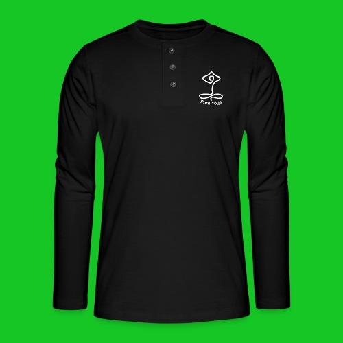 Pure Yoga - Henley shirt met lange mouwen