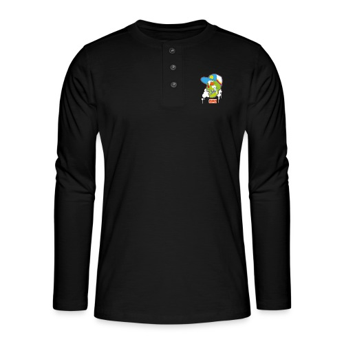 Ptb Skullhead 2 - Henley long-sleeved shirt