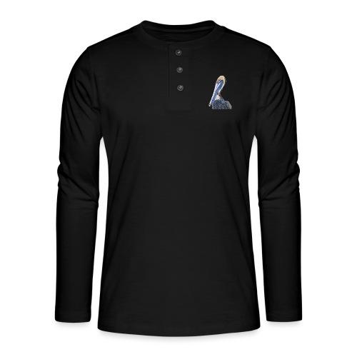 pelican - Henley T-shirt med lange ærmer