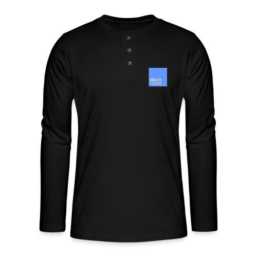 Blue Summer Logo - Henley long-sleeved shirt