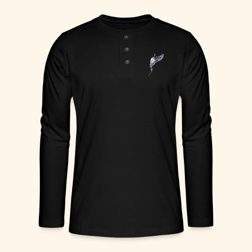 Weißschwanz Tropenvogel - Henley Langarmshirt
