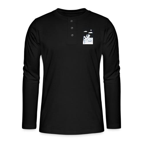 Hot summer - T-shirt manches longues Henley