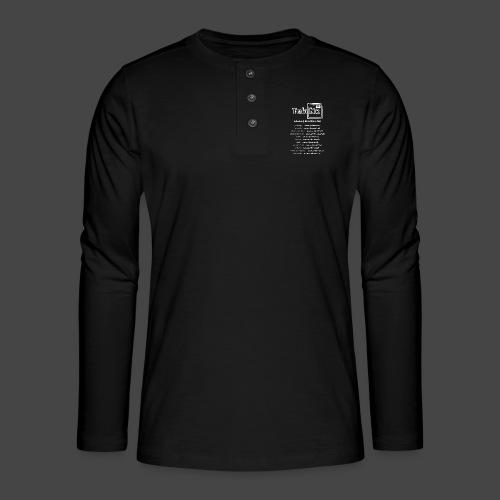 tekno23 - T-shirt manches longues Henley