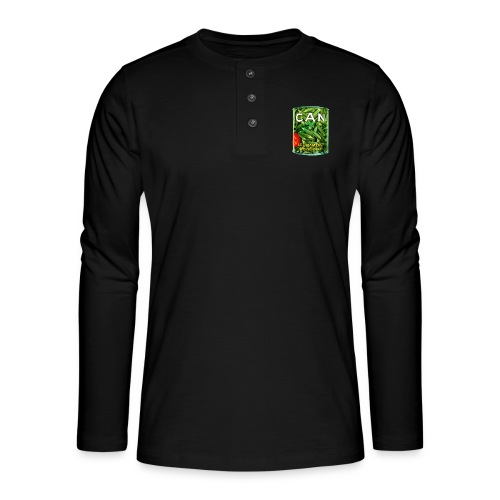 Can Band Logo - Henley shirt met lange mouwen