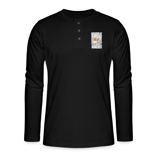 Cubes de Bois - T-shirt manches longues Henley